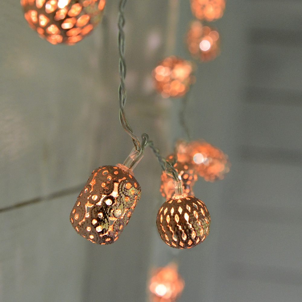 Copper Fairy Lights.