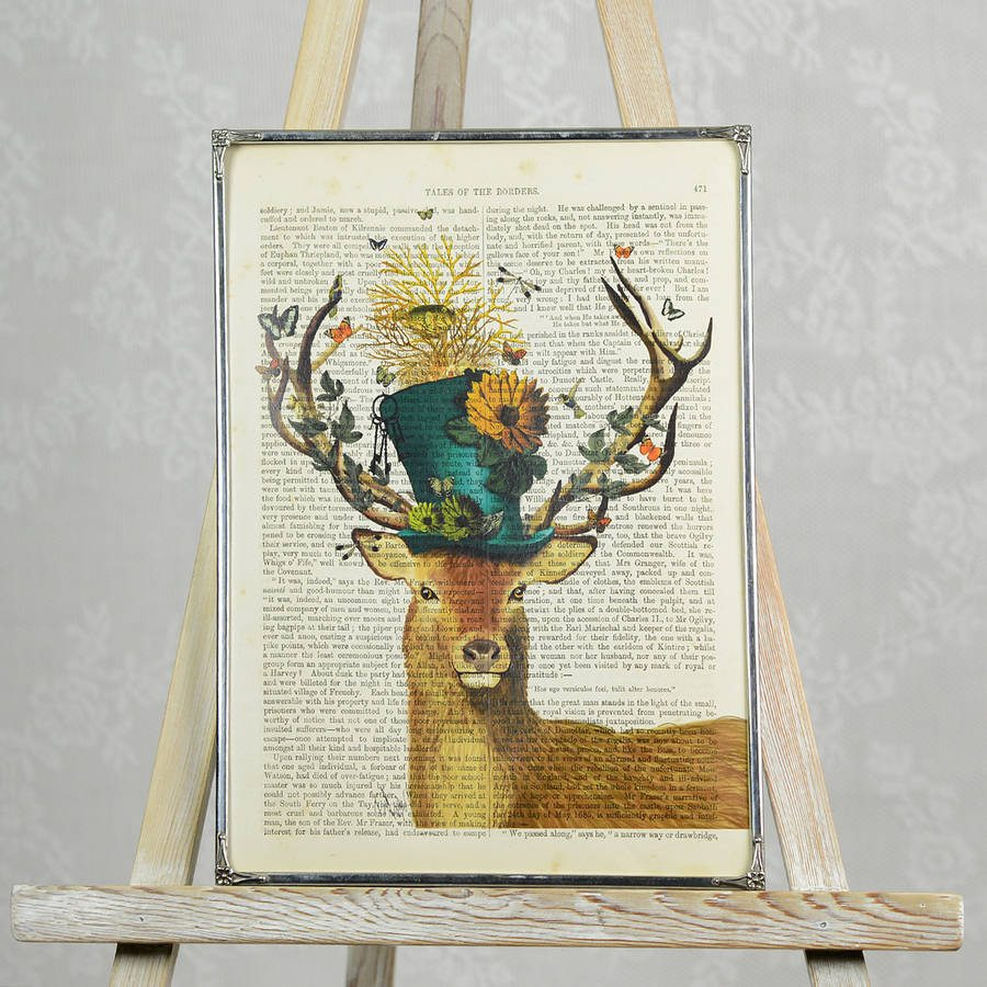 Stag Print.